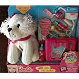 Barbie App-nific Pet Doctor 11 Pc Doctor Kit & White Dog (App Enhanced Play)