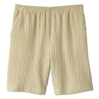 Orvis Women's Scrunch Cloth Shorts, Sand, Large