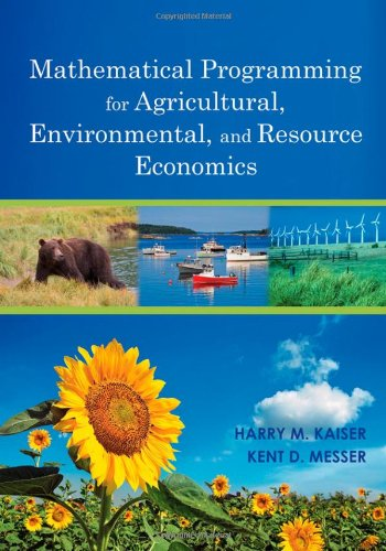 Mathematical Programming for Agricultural, Environmental,...
