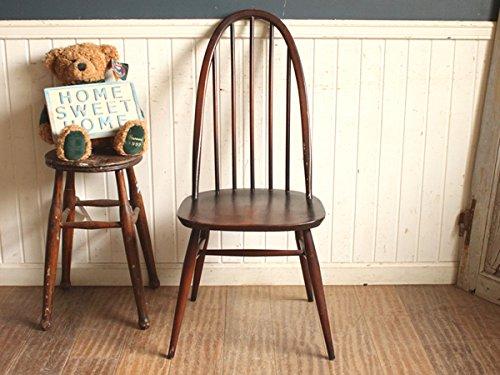 英国(イギリス)アンティーク◇ERCOLアーコール社クエーカーチェア/椅子イス(a1500082-2)