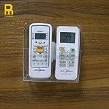 Heating Cooling Air Quality Beste Deals - Wandhalterung Fernseher/Heizung/AC Universal-Fernbedienung Halter-Aufbewahrungsbox, 133x40mm