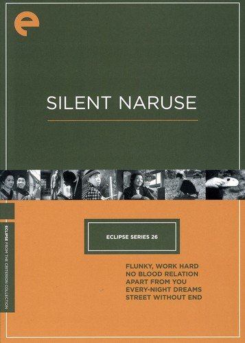 DVD : Silent Naruse (Criterion Collection: Eclipse Series 26) (Full Frame, , 5 Disc)