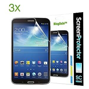 3 x Bingsale Displayschutzfolie samsung galaxy tab 3 8.0 Displayschutz Schutzfolie Folie HD klarer