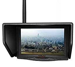 LILLIPUT 329/W 5.8G 31CH 7 Inches FPV Monitor Single Antenna BY VIVITEQ INC