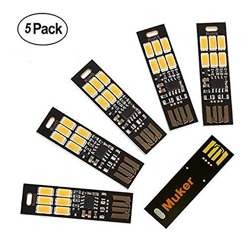 muker-led-usb-powered-lamp-light-ultra-thin-5-pack