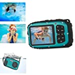ESYNiC 2.7'' 16MP Underwater Digital...