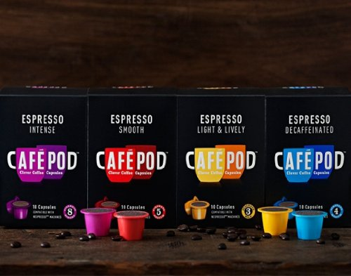 Shop for 40 CAFEPOD NESPRESSO COMPATIBLE COFFEE CAPSULES MIX SELECTION from Cafepod