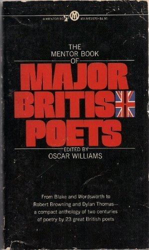 The Mentor Book of Major British Poets (Mentor)