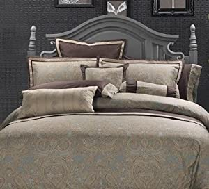 """Double/Full Size 300TC 100% Cotton Sheet Set-""""Hudson Valley"""" Collection"""