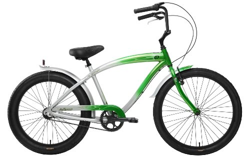 Nirve Inferno Mens 3 speed Bicycle (Green)