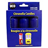 UCO 9-Hour Citronella Candles for Candle Lanterns - 3-Pack