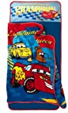 Disney PIXAR Cars Quilted Nap Mat *Ultra Soft Blanket * Pillow All-In-One