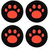 New World Cat Paw Silicone Key Protector Thumb Grips Anti-Slip Silicone Cap Cover For PS4 PS3 Xbox 360 Controller...