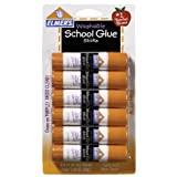 Elmer's Disappearing Purple School Glue Sticks, 0.21 oz, Pack of 6 (E1560)