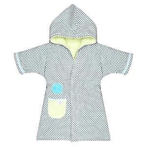Câlin Câline Nino Vestido 100.41 Vestidor para Age 1 Año blanca con manchas azules de Gentleman Farmer