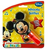 Disney Jr. Mickey Mouse Clubhouse Whistle With Attached Lanyard! Perfect Stocking Stuffer For Your Disney Fan!