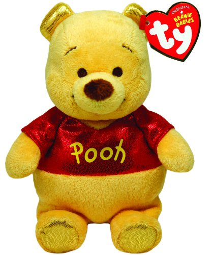 Ty Beanie Buddies Winnie The Pooh Sparkle Medium Plush - 1
