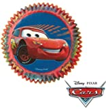 Disney Pixar Cars Cupcake Bun Muffin Cases (pack of 50) [Kitchen & Home]
