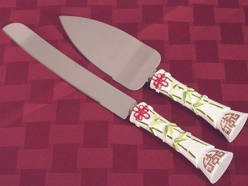 Double Happiness Collection Cake And Knife Set C1750 Quantity Of 1