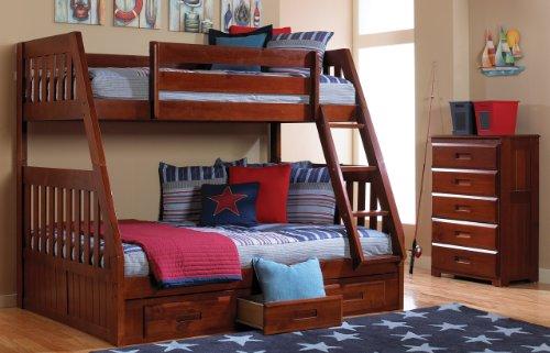 Loft Bed Over Desk 9891 front