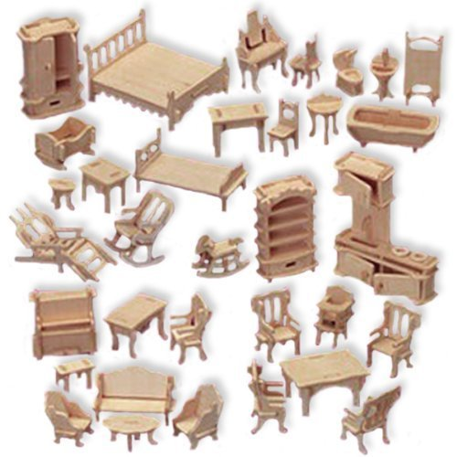 My Hobby Guide To Get Free Miniature Dollhouse Furniture Plans