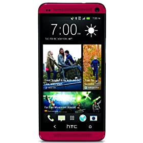 HTC One, Red 32GB (Sprint)