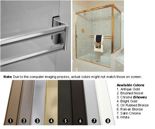 Sliding Shower Door Towel Bar
