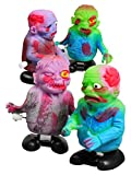 Laufender Zombie Aufzieh Figur Halloween bunt 8x7cm