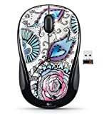 Logitech M325 Wireless Mouse (Floral Foray) (910-003011)