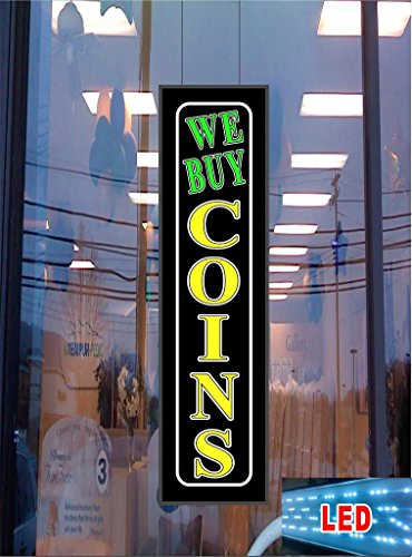 We Buy Coins LED Light Up Sign (Hummer Umbrella compare prices)