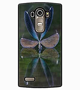 ColourCraft Beautiful Creature Design Back Case Cover for LG G4