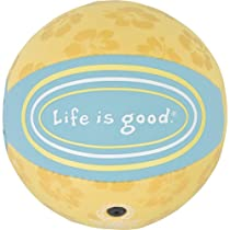 Life is Good Good Time Mini Ball, Sunny Yellow, One Size