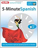 5 Minute Spanish & CD