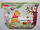 Winnie the Pooh Bear Bento Lunch Box Bag Container