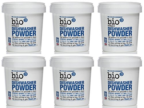 (6 PACK) - Bio-D - Dishwasher Powder | 720g | 6 PACK BUNDLE