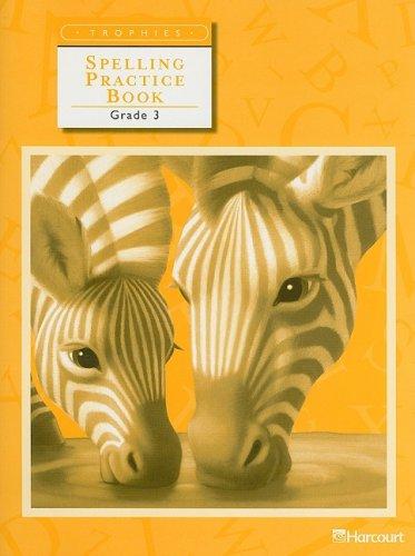 Trophies: Spelling Practice Book Grade 3