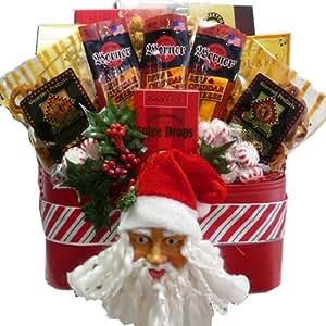 Art of Appreciation Gift Baskets Santa's Favorite Christmas Holiday Snacks