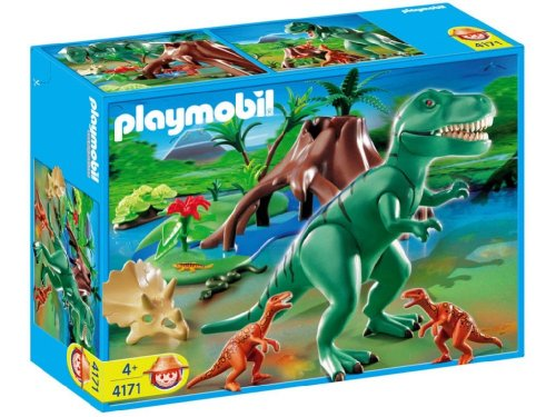 Playmobil t rex with velociraptors recomended products - Dinosaur playmobile ...