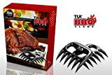 Hugely Discounted Tui®BBQ Meat Claws Meat Handler Forks for Shredding, Handling, Carving Pork, Poultry, Beef, Bbq, Chicken, Turkey & Ham - Bear Paws Holder, Puller, Shredder, Pulverizer & Pulling Set of 2 - Heat Resistant Grill Smoker Tool & Ideal Barbecue Accessories Gift - Premium Quality, Strong, Sharp and Versatile - Risk Free Lifetime Money Back Guarantee!