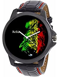 Relish Black Collection Analog Watches For Men - RELISH-503