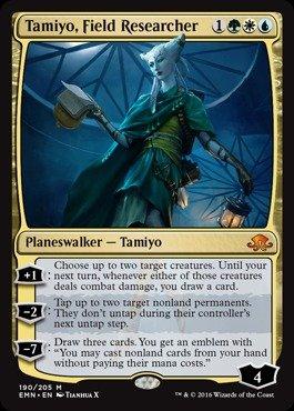 Magic: the Gathering - Tamiyo, Field Researcher (190/205) - Eldritch Moon
