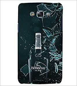 PrintDhaba Bottle D-4338 Back Case Cover for SAMSUNG GALAXY J5 (Multi-Coloured)
