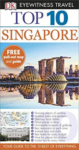 DK Eyewitness Top 10 Travel Guide. Singapore