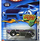Hot WheelsHot Wheels 2002-048 Purple/Silver Rocket Oil Special 36/42 1:64 Scale Die Cast Car おもちゃ [並行輸入品]