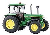 Britains - Tractor John Deere 3650, color verde, amarillo y negro (TOMY 42904)