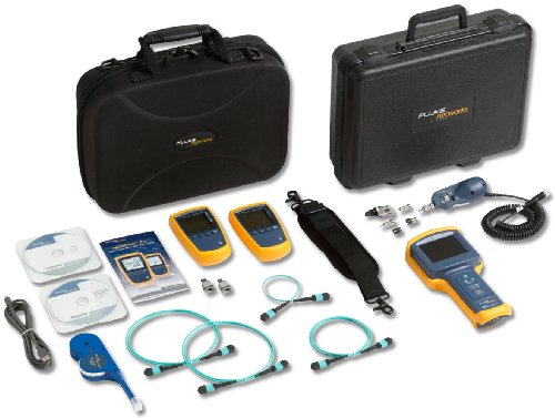 Fluke Networks Mftk1400 Multifiber Pro Testing And Inspection Kit