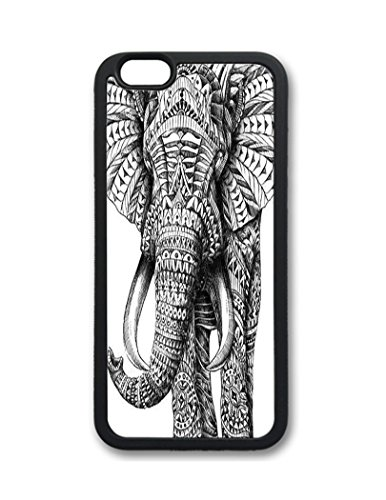 Fantastic Faye Pc Material Abstract Oil Paintig Elephant Cute Colorful Cartoon Lovely Cell Phone Cases Special For Iphone 6 No.5