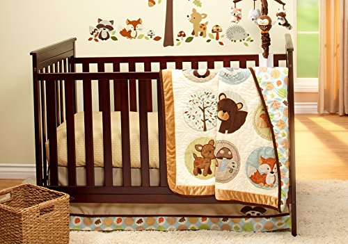 Carter's Friends Collection 4 Piece Crib Bedding Set