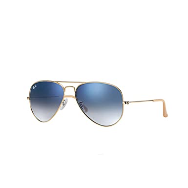 ray ban glasses aviator sunglasses  Ray-Ban Aviator sunglasses (Gold) (0RB3025001/3F55): RAY BAN ...