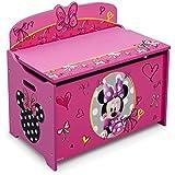 Delta Children Deluxe Toy Box, Minnie